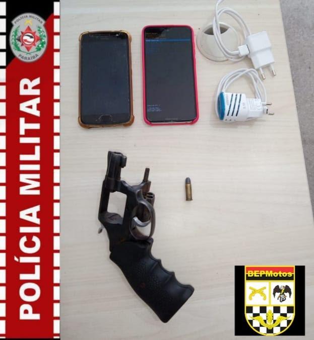 Polícia prende suspeito de assalto em Cajazeiras